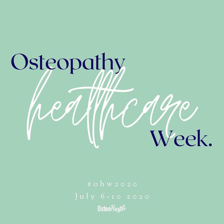 Osteopathy Healthcare Week